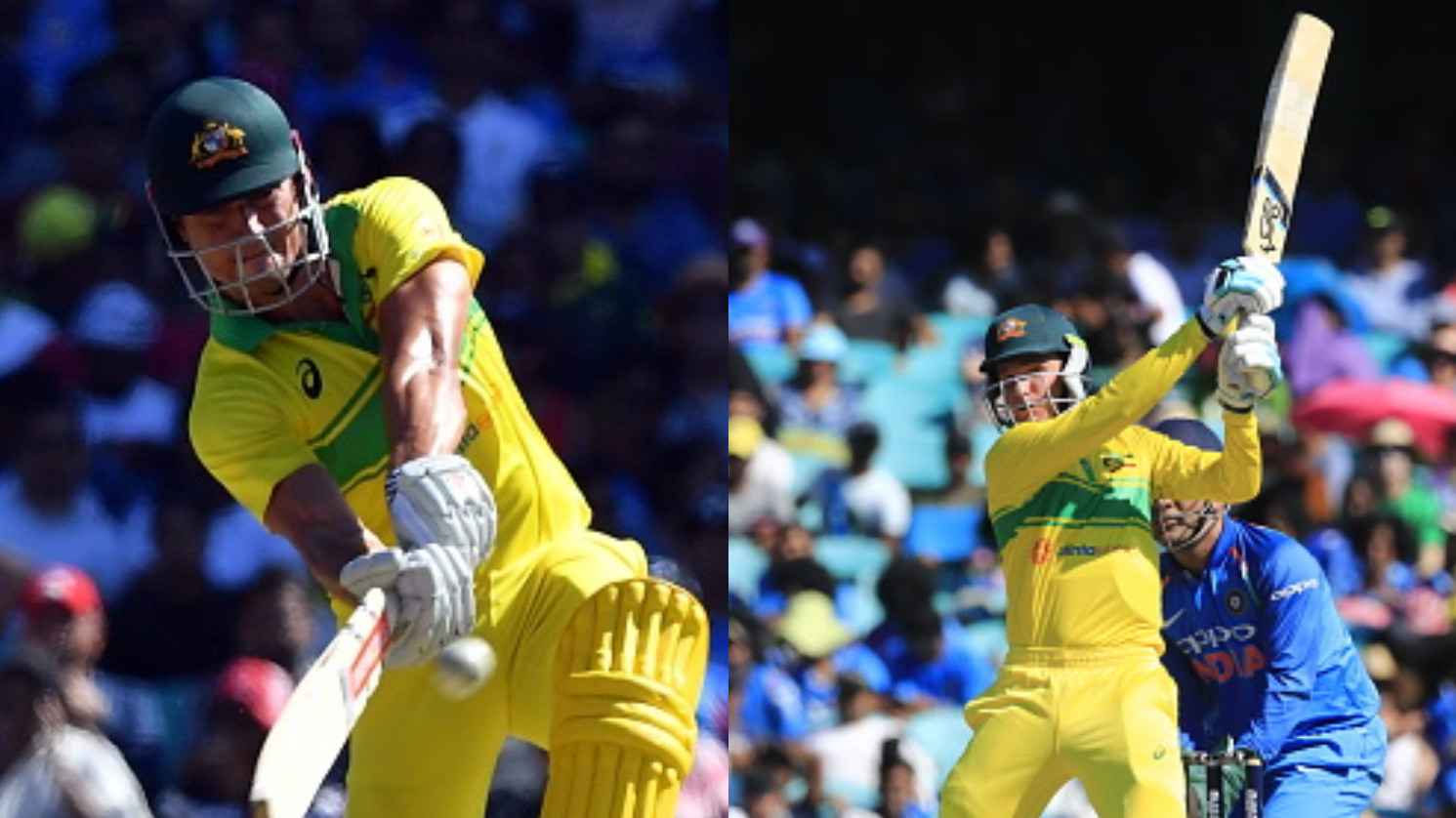 AUS v IND 2018-19: 1st ODI - Handscomb's 73 and Stoinis death overs onslaught takes Australia to 288/5