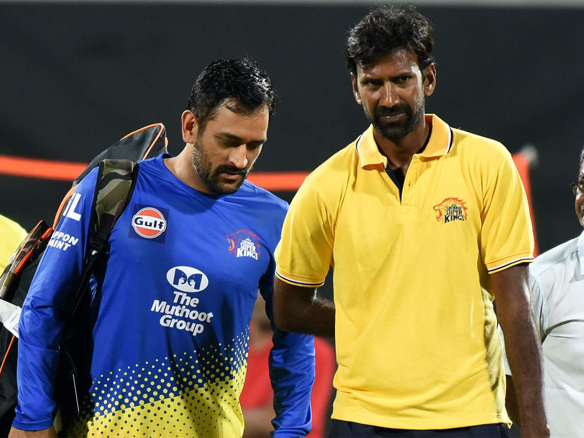 L Balaji is one of the three CSK members to test COVID-19 positive | CSK Twitter