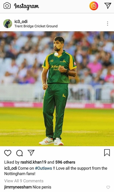 Jimmy Neesham's hilarious comment on Ish Sodhi's tight pants | Instagram