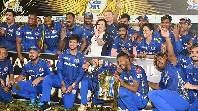 Mumbai Indians have won the Indian Premier League four times. (photo - IANS)