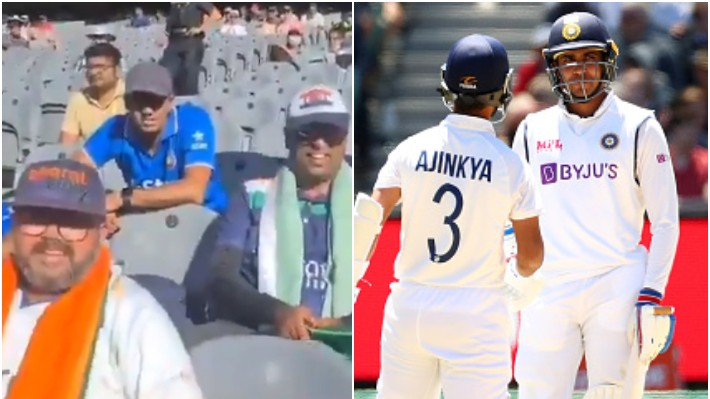 AUS v IND 2020-21: WATCH - Bharat Army's funny chant for Shubman Gill