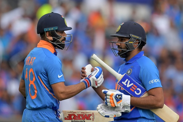 Kohli and Rohit put on 137 runs for the second wicket | Getty