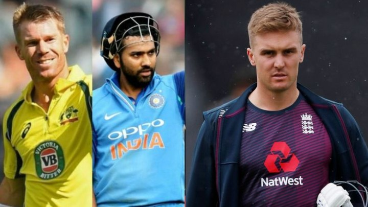Jason Roy picks his opening partner between David Warner and Rohit Sharma