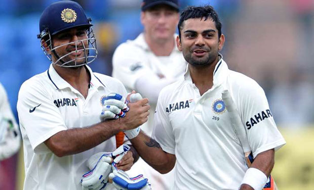 Is Kohli missing Dhoni the wicket-keeper batsman and the tactical master for the first time in Test cricket?