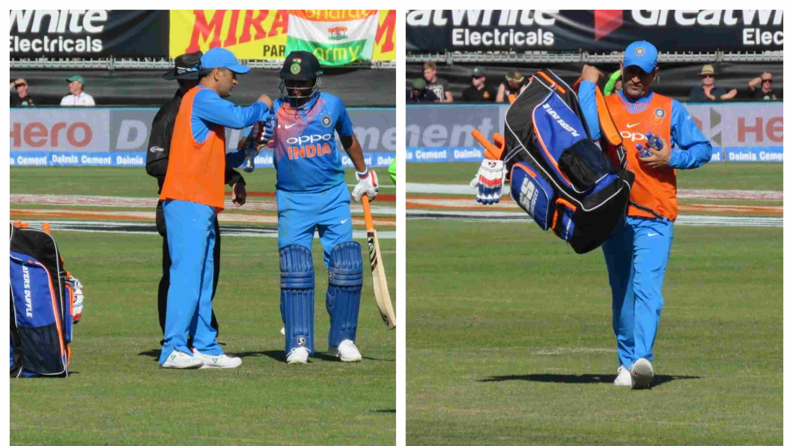 IRE v IND 2018: MS Dhoni shows his class once again, carries drinks for his teammates in the second T20I against Ireland