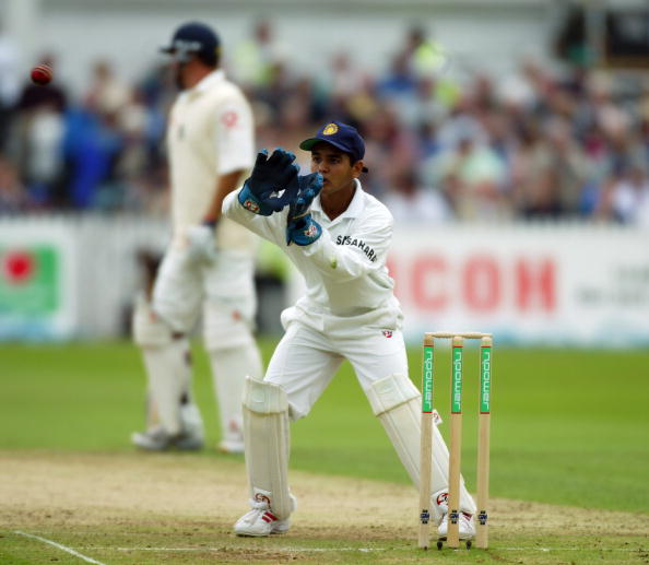 Parthiv Patel on his India debut at 17 years and 153 days against England in 2002 | Getty