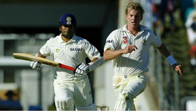 Sachin Tendulkar and Brett Lee | Reuters
