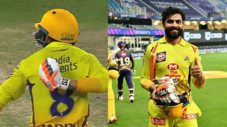 IPL 2020: Ravindra Jadeja's celebration gaffe leaves fans confused