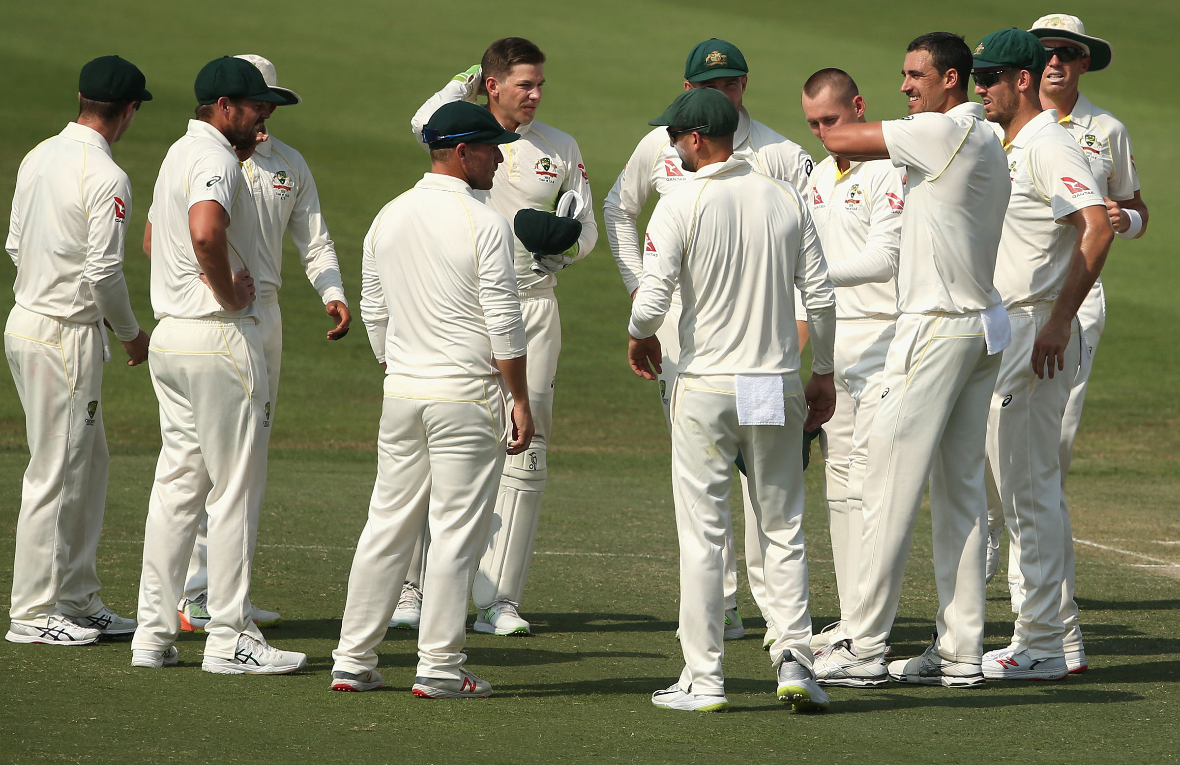 Australia currently playing Test series in the UAE | Getty Images
