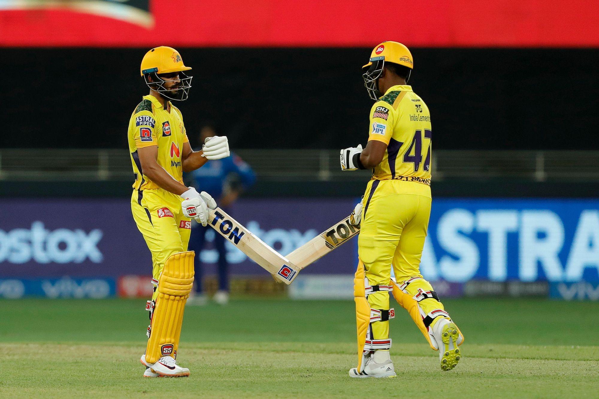 Ruturaj Gaikwad and Dwayne Bravo starred for CSK   BCCI/IPL