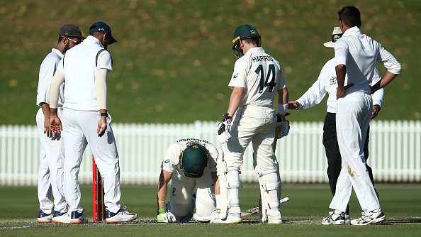 AUS v IND 2020-21: WATCH – Will Pucovski retires hurt after getting hit on the helmet by Kartik Tyagi's bouncer