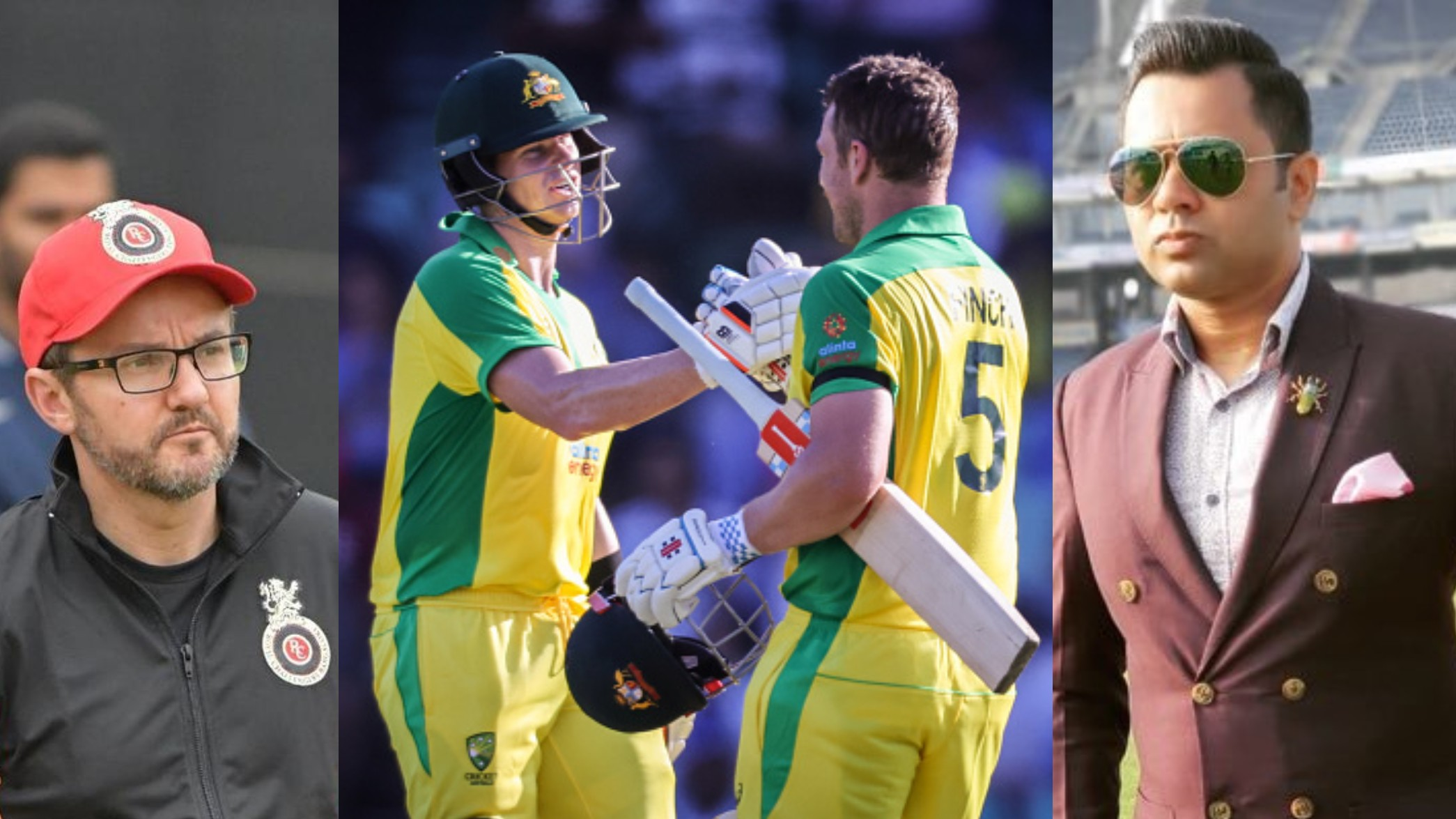 AUS v IND 2020-21: Cricket fraternity applauds Finch's 114 and Smith's 105 as Australia makes 374/6