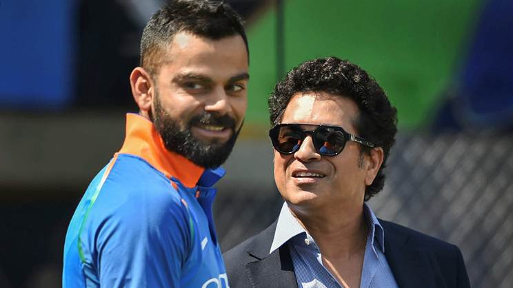 Sachin Tendulkar calls Virat Kohli one of leading players of all time