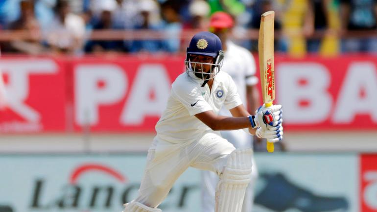 Prithvi Shaw, alongside KL Rahul, completed India's 10-wicket win | AFP