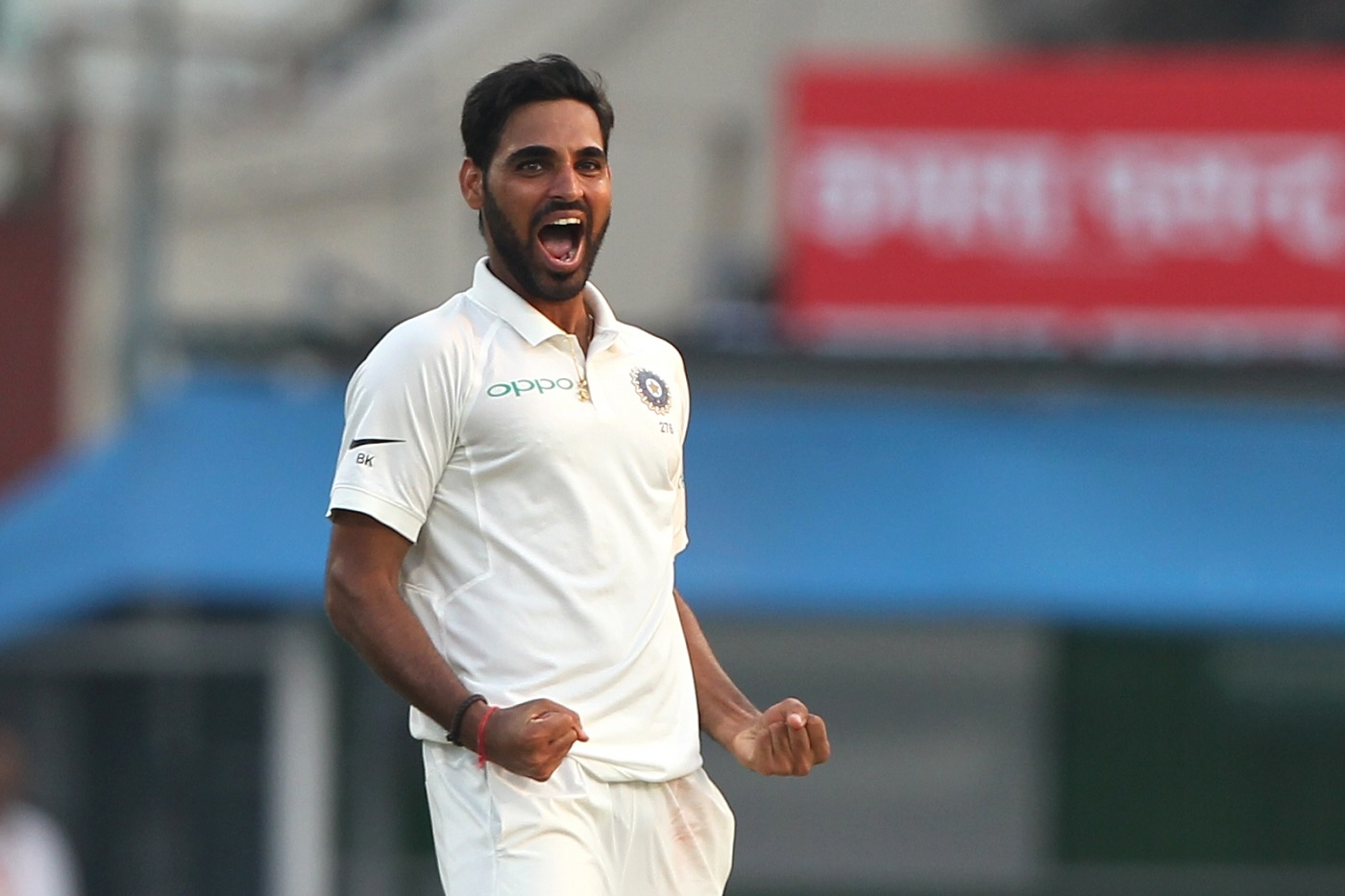 Bhuvneshwar Kumar picked 4 wickets for India