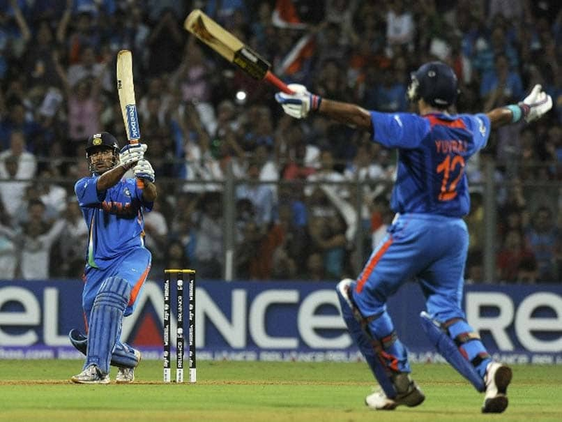 MS Dhoni made 91* and hit that match-winning six to make India world champions after 28 years | AFP