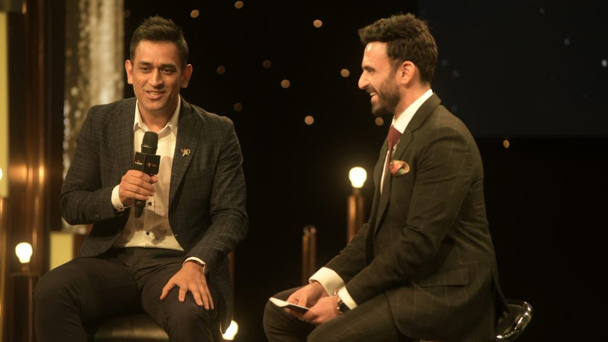 MS Dhoni speaks about IPL 2018, his fitness and others things at Star ReImagine Awards