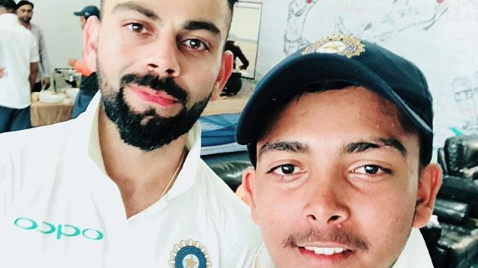 IND v WI 2018: Virat Kohli praises Man of the Match Prithvi Shaw after massive win over Windies