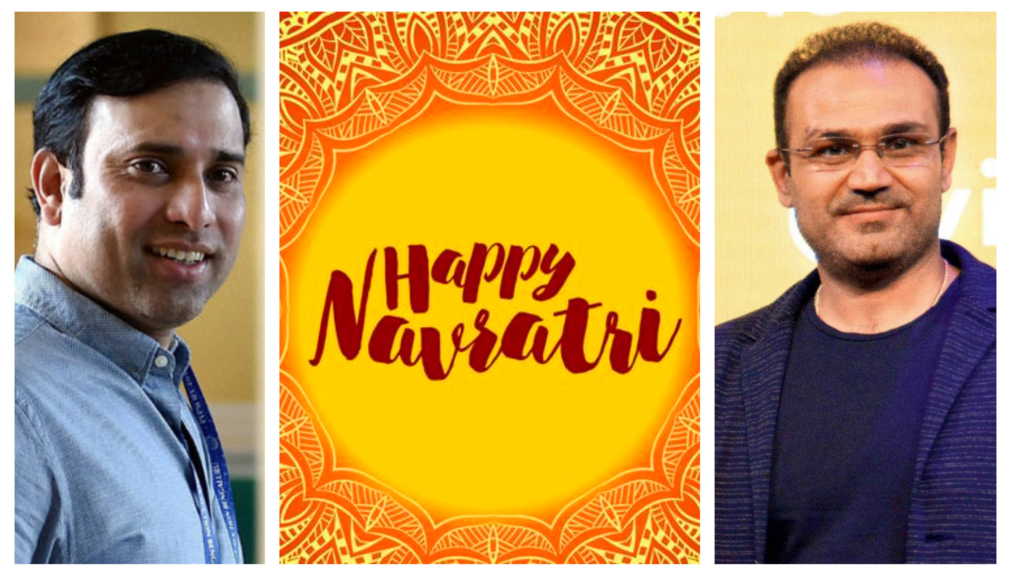 Cricket circle tweets wishes on the occasion of Navratri