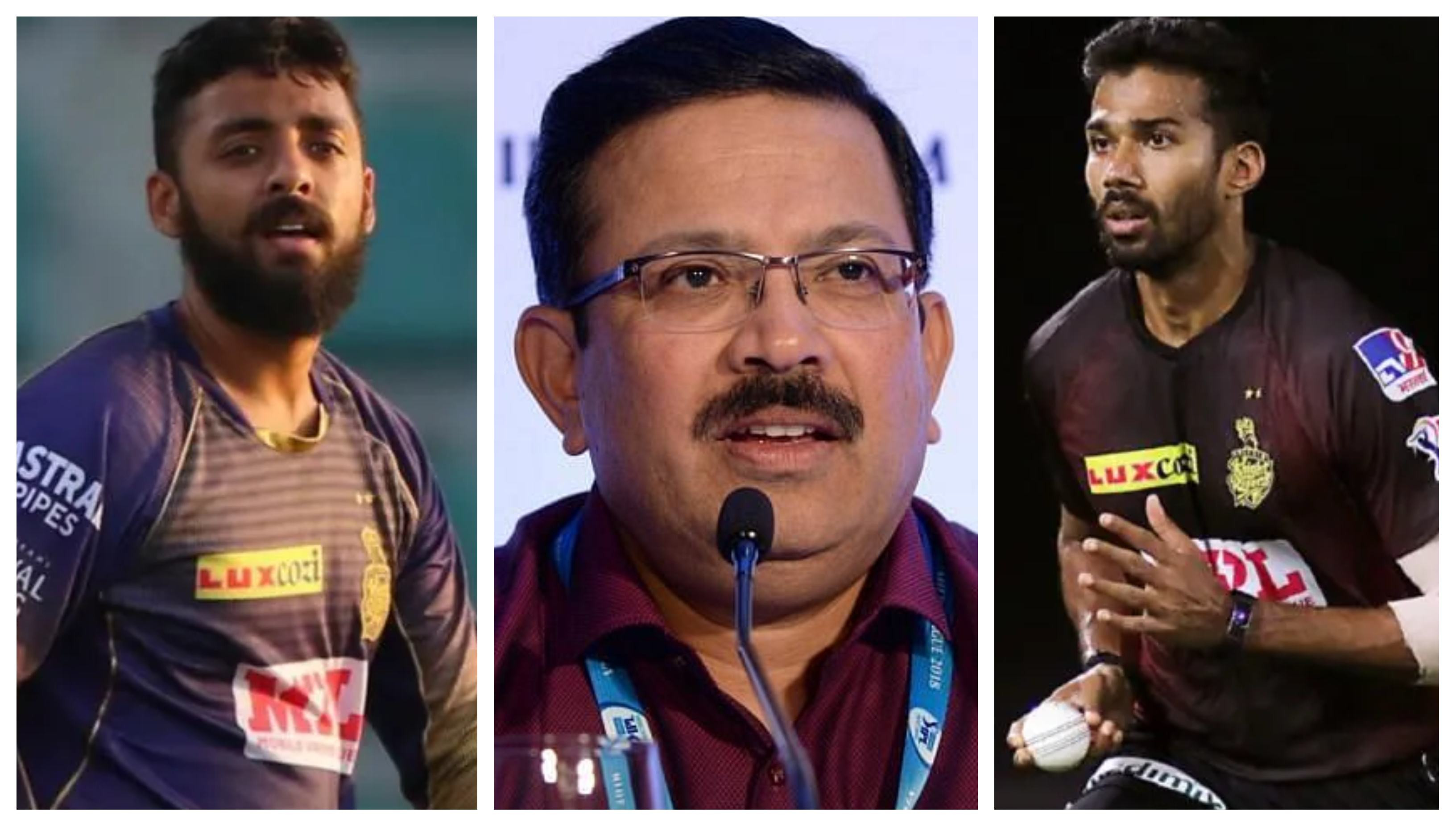IPL 2021: Venky Mysore gives an update on Chakravarthy, Warrier's health