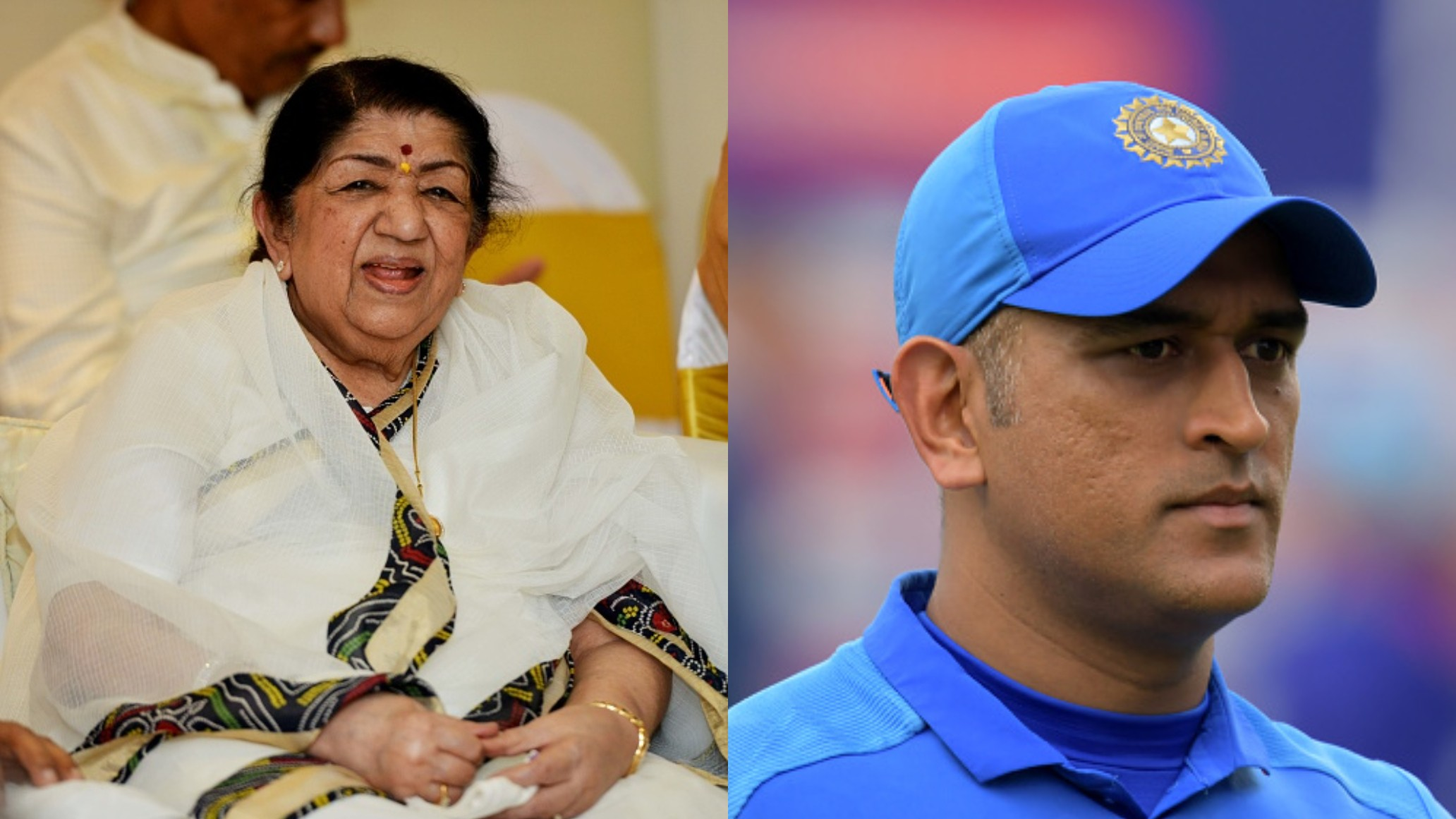 CWC 2019: Lata Mangeshkar says to MS Dhoni that the country still needs him to continue playing