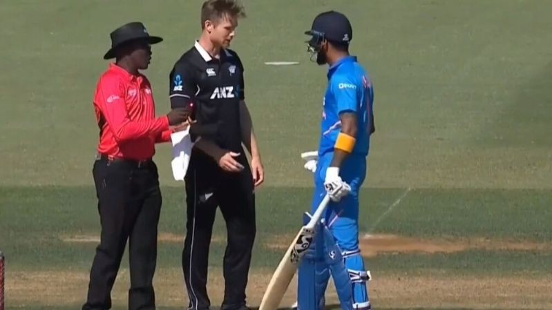 NZ v IND 2020: Jimmy Neesham and KL Rahul to settle 'rock, paper, scissor' game in IPL