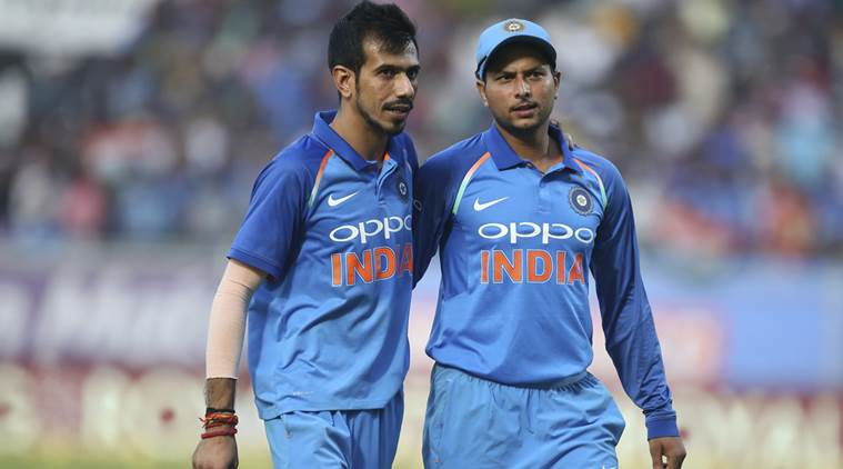 Yuzvendra Chahal and Kuldeep Yadav | Source Getty