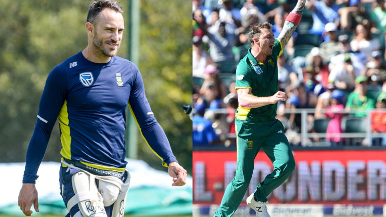 Dale Steyn makes a comeback to South African ODI squad, Faf du Plessis to go through a fitness Test