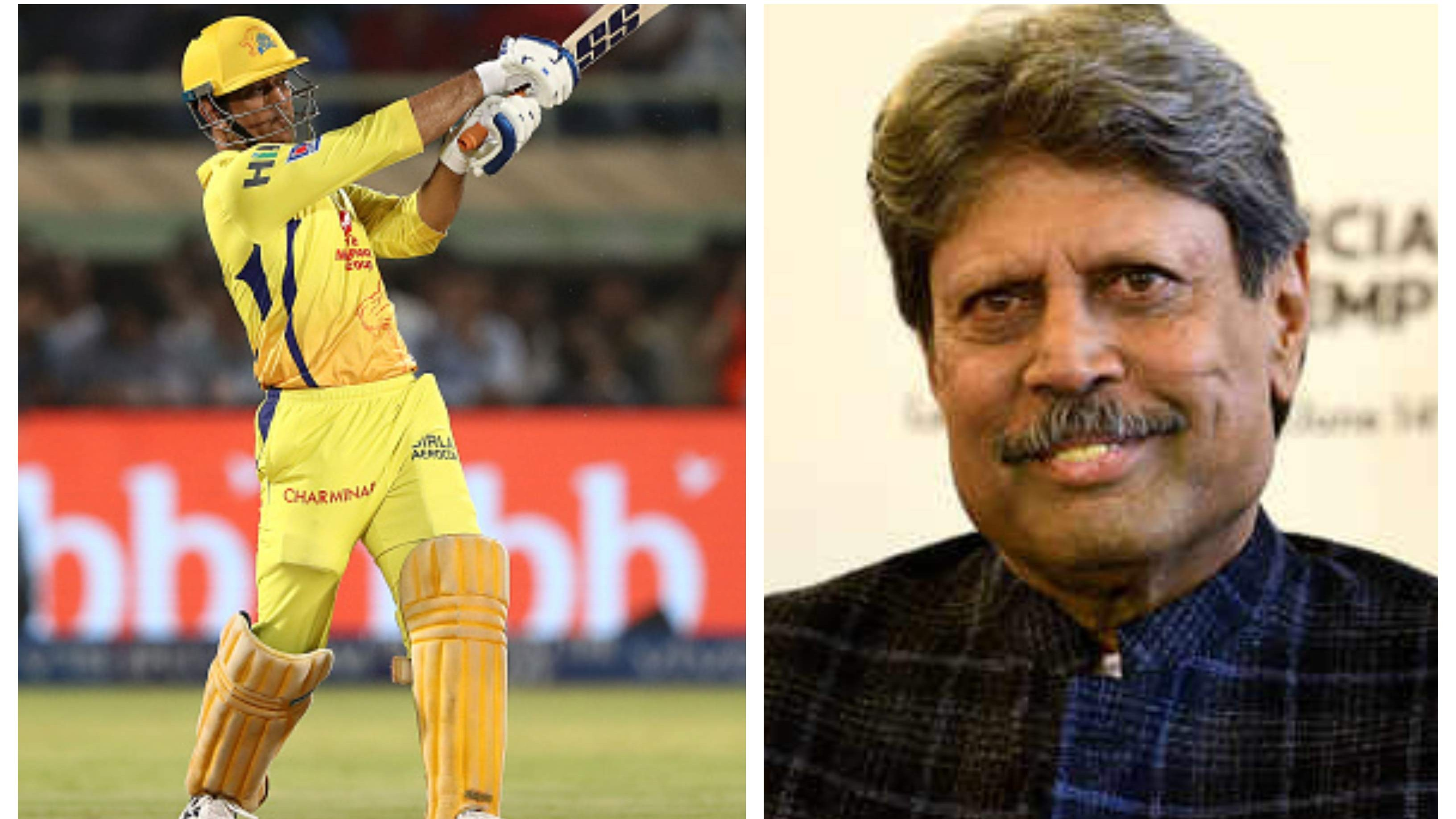IPL 2020: Kapil Dev not excited about MS Dhoni's return to action during the IPL