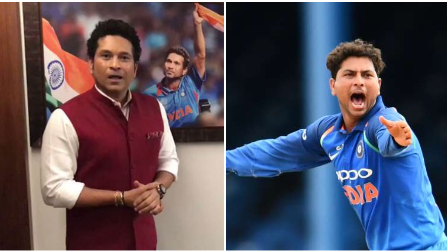Kuldeep Yadav gets a unique birthday wish from Sachin Tendulkar on Twitter