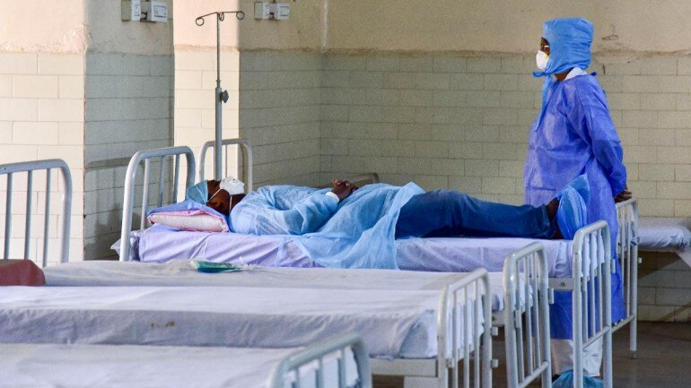 India started making quarantine centers across the country | AFP
