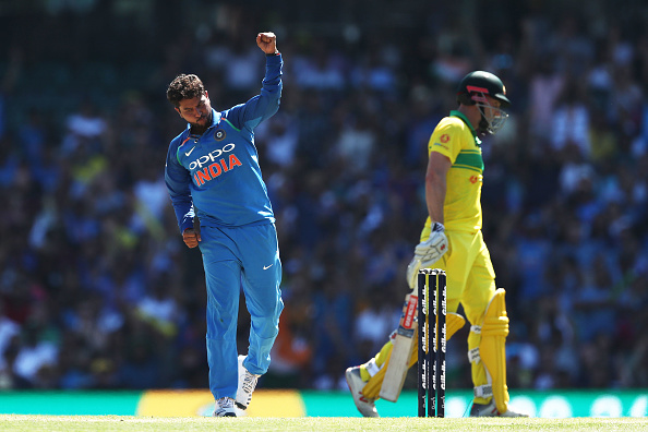 Kuldeep Yadav was pick of Indian bowlers with 2/54 | Getty