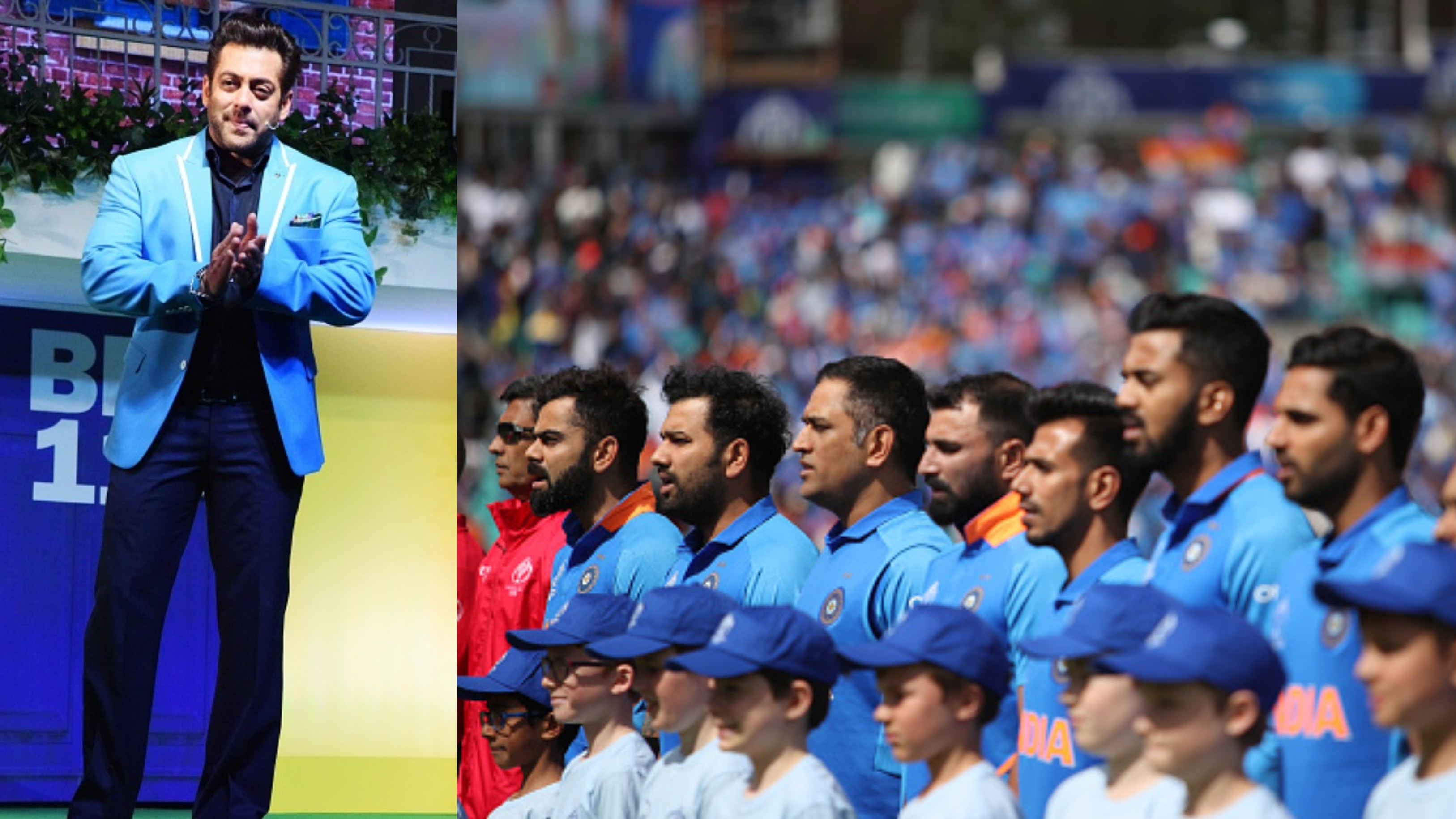 CWC 2019: Salman Khan sends best wishes for Team India for their World Cup campaign