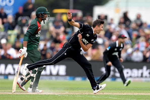 Trent Boult in action against Bangladesh | Getty