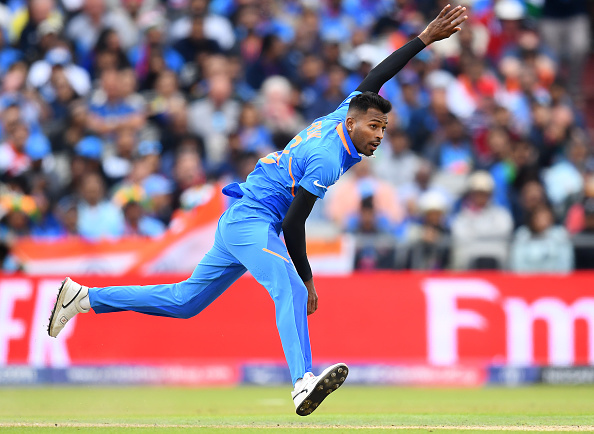 Should Hardik be relieved of some of his bowling burden?   Getty