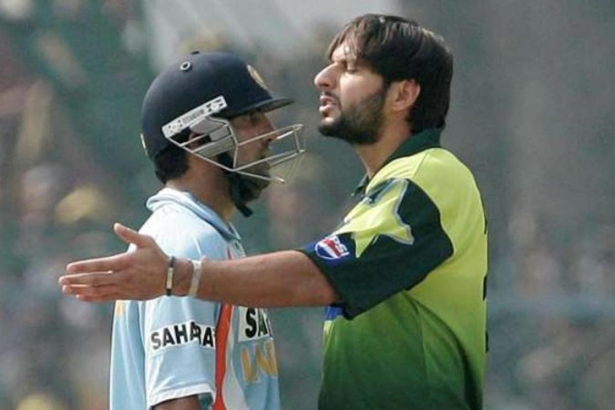 Afridi doesn't share a good relation with Gambhir even after their cricketing days have ended | AP