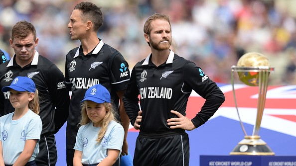 CWC 2019: New Zealand distressing over Kane Williamson's possible suspension