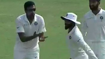 IND v WI 2018: WATCH – Ravindra Jadeja's antics give R Ashwin and Virat Kohli a heart attack