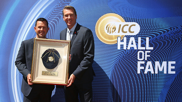 Ricky Ponting officially inducted into ICC Hall of Fame