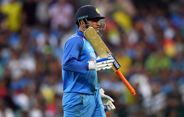MS Dhoni was heavily criticised for his 96-ball 51 innings at the SCG | Getty Images