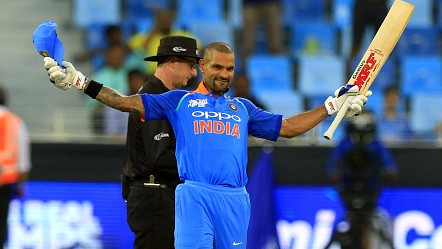 Asia Cup 2018: Shikhar Dhawan's 127 leads India to a win over a fighting Hong Kong