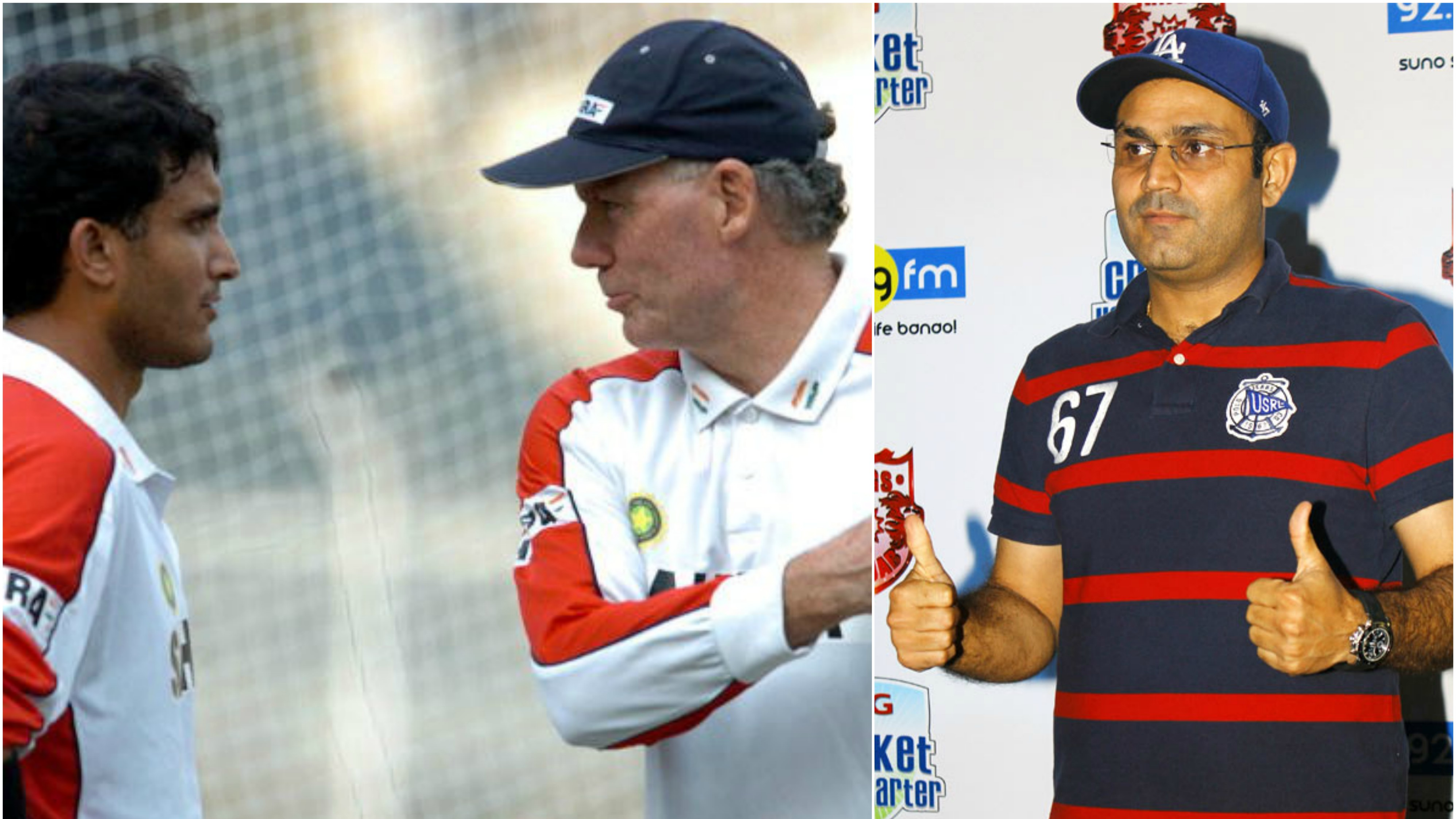 Virender Sehwag reveals about Greg Chappell's controversial mail against Sourav Ganguly