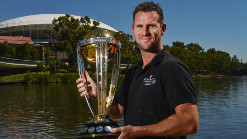 Shaun Taint won the ICC Cricket World Cup 2007 with Australia | AFP