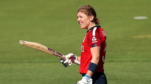 Women's T20WC 2020: Captain Heather Knight's 108* helps England rout Thailand by 98 runs
