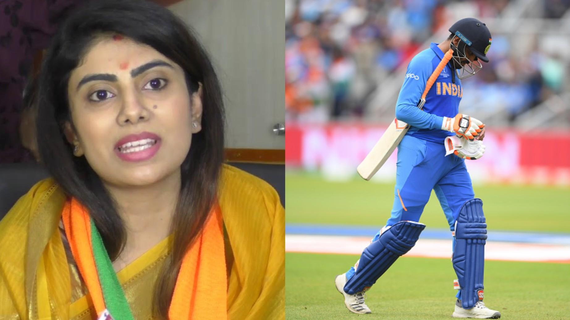 CWC 2019: Ravindra Jadeja was inconsolable after the loss to New Zealand in semis, reveals wife Rivaba