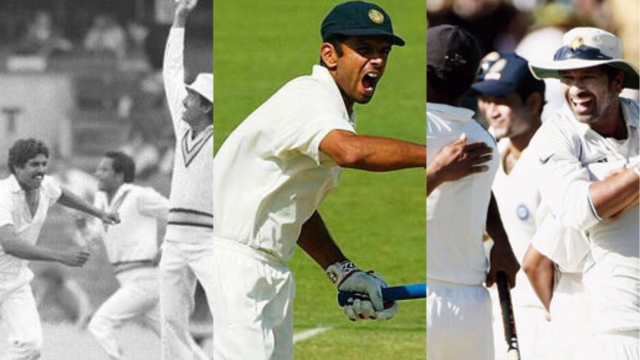 AUS v IND 2018-19: A look back at India's 5 Test wins in Australia