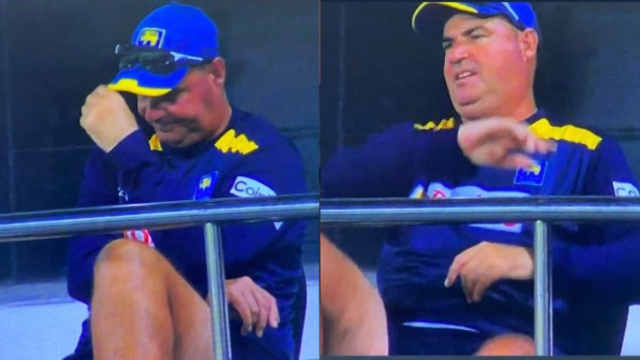 """SL v IND 2021: """"We were frustrated, don't make mischief out of it"""", Mickey Arthur on heated exchange with Dasun Shanaka"""