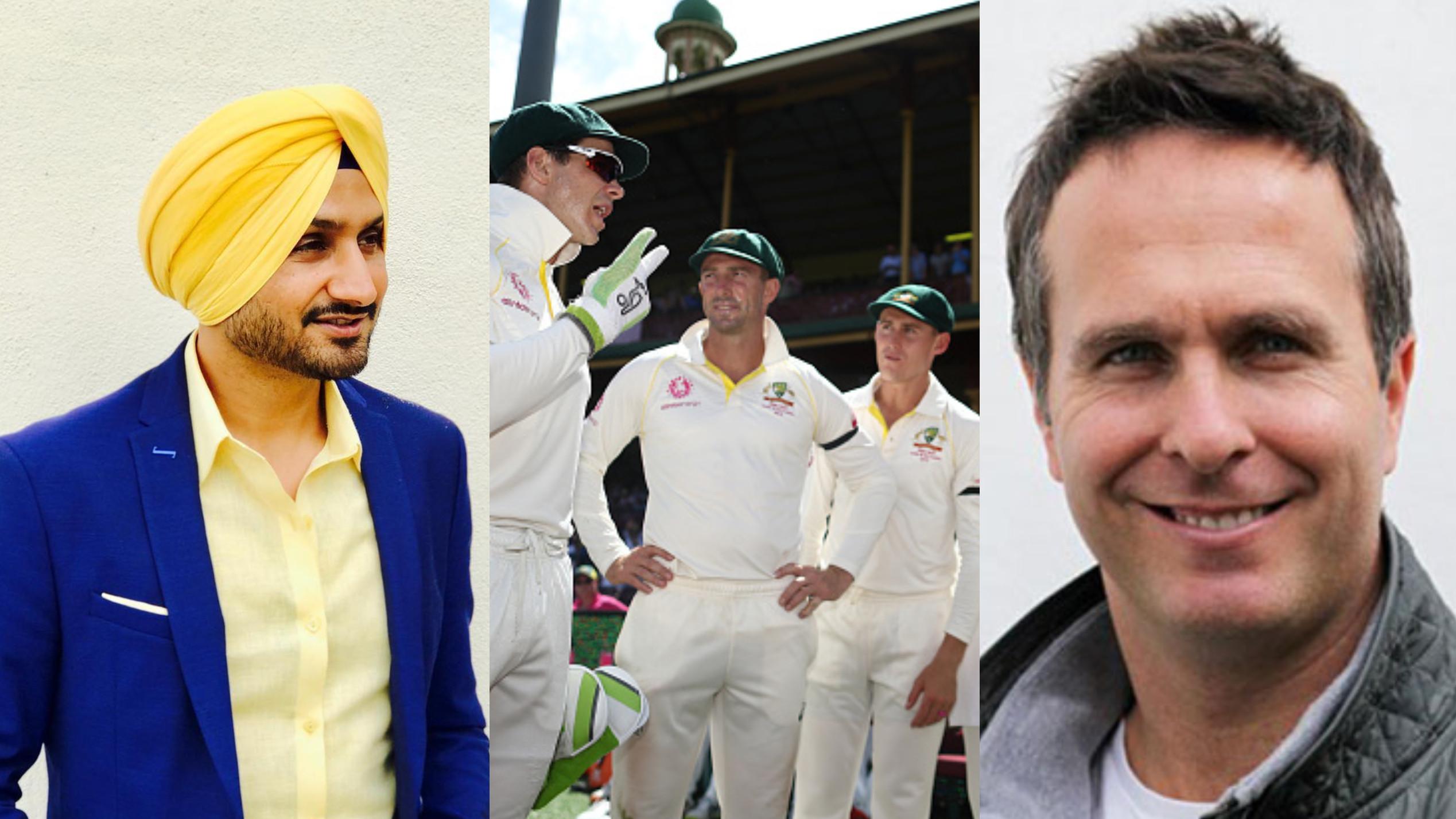 AUS v IND 2018-19 : हरभजन सिंह और माइकल वॉन ने मेहमान टीम के पिच के सपाट होने के बहाने पर ली उनकी चुटकी