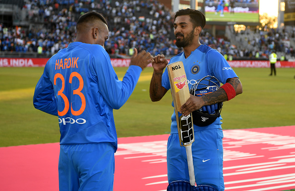Dravid feels Hardik Pandya and KL Rahul can still be role models for the budding cricketers | Getty