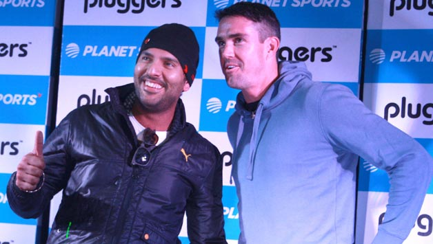 Watch: Yuvraj Singh's cover drive impresses Kevin Pietersen